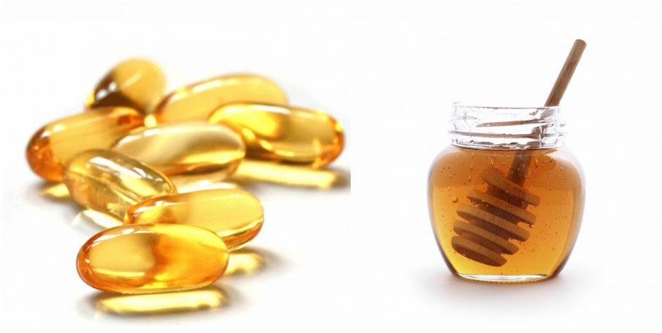 Mặt nạ Vitamin E mật ong